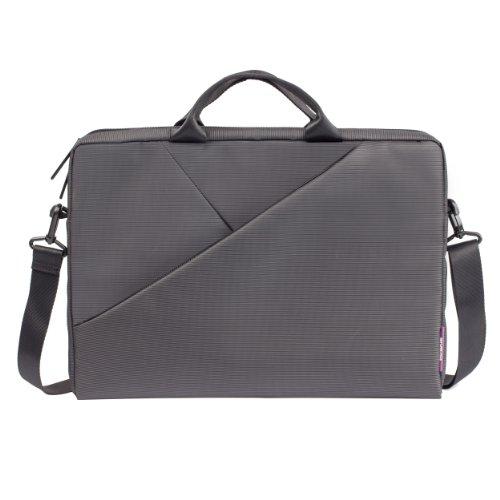 Rivacase - hochwertige Notebooktasche / Schultertasche für Notebooks bis 15,6
