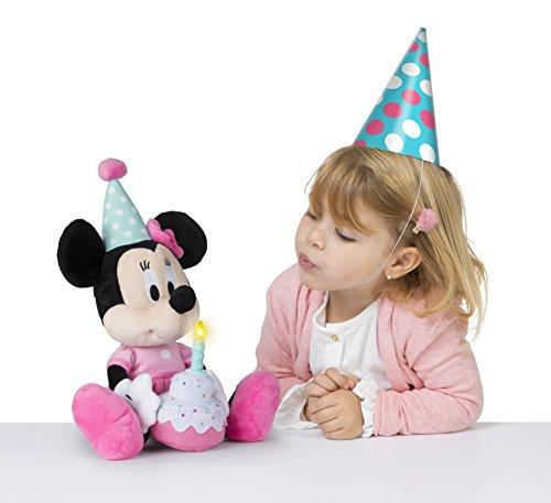 IMC Toys 184572MI Minnie Maus Happy Birthday to You Plüsch, Rose