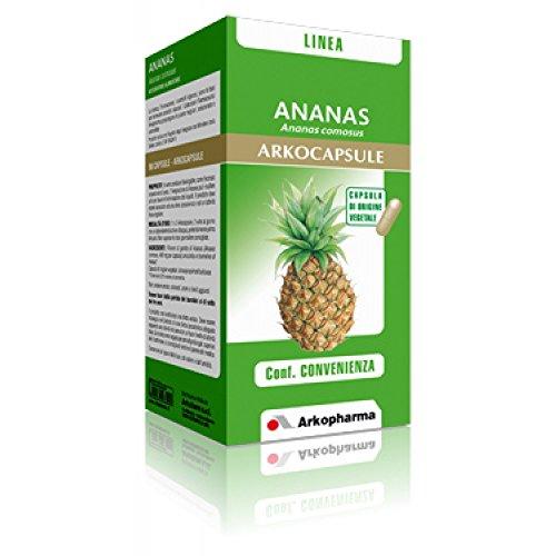 Arkopharma Integratore Alimentare Capsule Drenante, Ananas, Capsule, Standard, 45 Unità