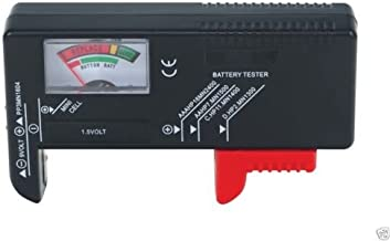 Battery Tester Universal Volt Checker AAA, AA, C, D, 9V & Button Cell