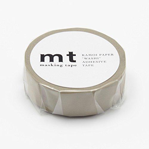 "MT Tape Solids Washi Paper Masking Tape, 3/5"" x 11 yd, Beige (MT01P200)"