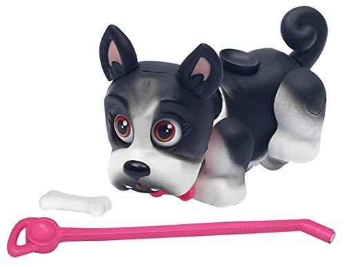 Giochi Preziosi- Pet Parade Mini Cuccioli a Funzionamento Magnetico, Colore Bianco/Nero, PTD00751