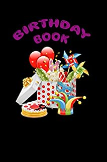 Birthday Book: Keep track of all the birthday gifts you buy