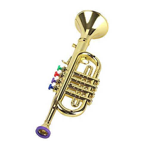 Shiwaki Kindertrompete Mit 3 Farbigen Tasten Für Musikpädagogikspielzeug Für Die Frühe Entwicklung