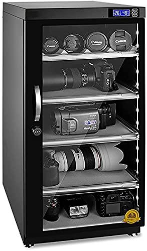 Gabinete seco deshumidificador controlado digitalmente con Bloqueo de cdigo para Lente de cmara Humedad Constante Inteligente Equipo electrnico y Objetos de Valor 90L 105L 125L Capacidad
