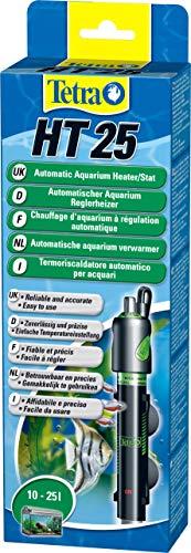 Tetra HT 25 - Potente Riscaldatore per Acquario per Coprire Diversi Livelli di Potenza con Manopola di Regolazione della Temperatura