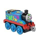 Thomas & Friends Trackmaster Locomotiva in Metallo con Decorazioni Speciali Thomas, Giocattolo per Bambini 3+ Anni, GHK64