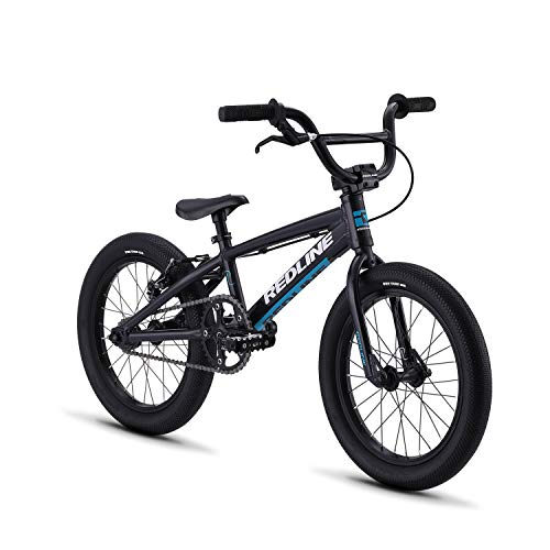 Redline Bikes Proline Youth BMX Race Bike 16/18/20 Inch Wheel, Pitboss 16, Blue