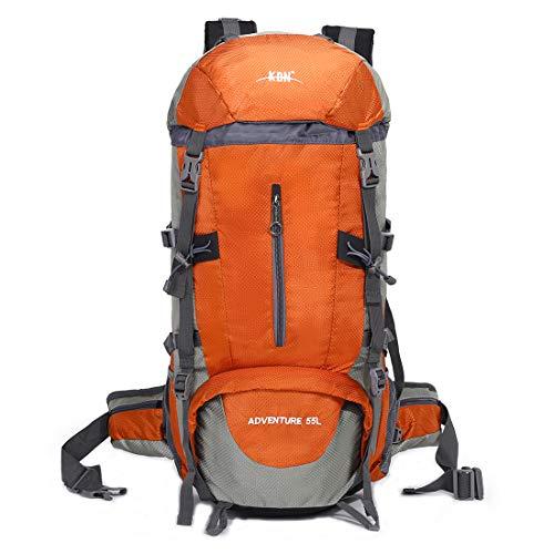 Mooedcoe 55L Wasserdicht Wandern Reiserucksack Outdoor Camping Klettern Bergsteigen Rucksack