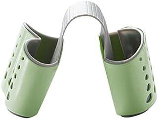 Verde Toruiwa Porta Spugne Portaoggetti da Appendere per Lavabo per Utensili da Cucina e Bagno Gadget Porta Spazzola Spugna