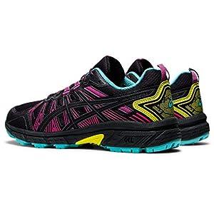 ASICS Women's Gel-Venture 7 Running Shoes, 8M, Graphite Grey/Sour Yuzu