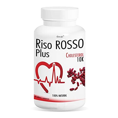 RISO ROSSO PLUS K10 Fermentato | 90 compresse (trattamento PER 3 MESI)