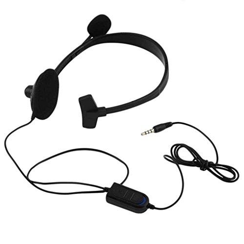 Fangfeen Ligera Wired Juego del Juego de la música del Auricular para Playstation portátil PS4 Vol
