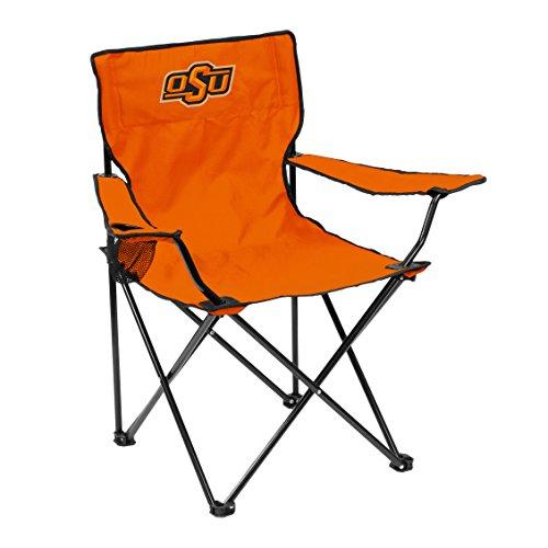 NCAA Logo Brands Oklahoma State Cowboys Quad Chair, Team Color
