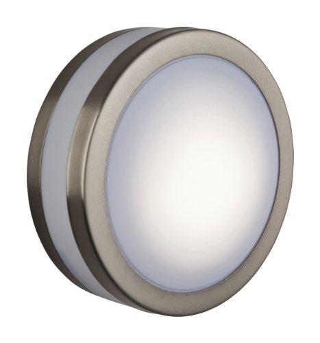 Firstlight Products Bulkhead, métal, GX53, diffuseur en polycarbonate blanc