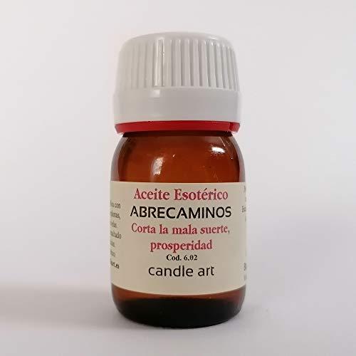 Candle Art Aceite con extracto de Plantas ABRECAMINOS - UNGIR Velas