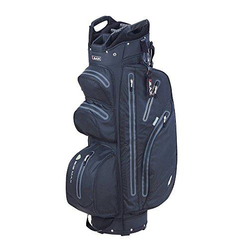 2015 Big Max Aqua I-Dry M Cart Bag Trolley Golf Bag 14-Way Divider Black/Charcoal