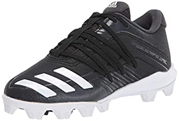 adidas Kids  Adizero Afterburner 6 Md Baseball Shoes Black/White 11 M US Little Kid