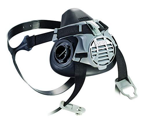 Mascarilla MSA Advantage 400 | Máscara de gas de seguridad para protección y confort | Advantage 420 grande, conexión filtro bayoneta | EN 140