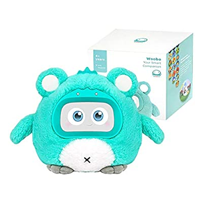 Amazon - Save 50%: WOOBO Plush Interactive Robot Toy for Curious Kids – Stuffed Talking Toys with…
