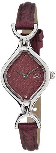 Titan analog brown Dial Women's Watch NM2531SL01/NN2531SL01
