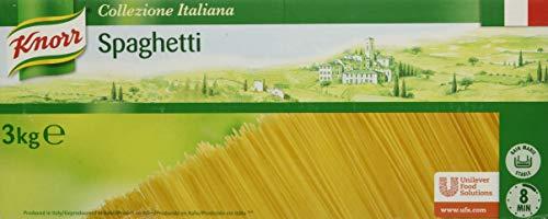 Knorr Spaghetti caja de pasta seca de 3kg