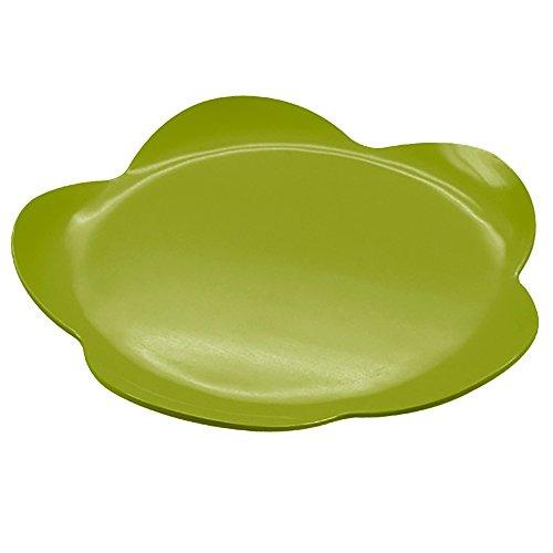 Zak Designs 0204-N960 Sweety Plateau Rond à Gâteau Vert 38 cm