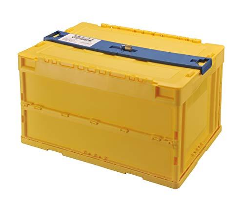カーメイト宅配ボックス折りたたみ式ロックプレート&南京錠で盗難防止ハンコケース付き50リットルNS801