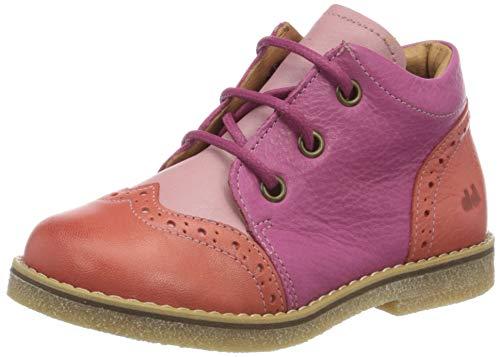 Froddo Mädchen G2130197 Girls Shoe Brogues, Pink (Fuxia+ I57), 27 EU