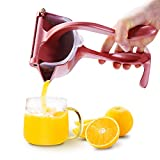 Manual Fruit Juicer, Lemon Squeezer, Heavy Duty Citrus Juicer, Detachable Lemon Juicer for Easy Cleaning, Orange Juicer, Made of Aluminum Alloy