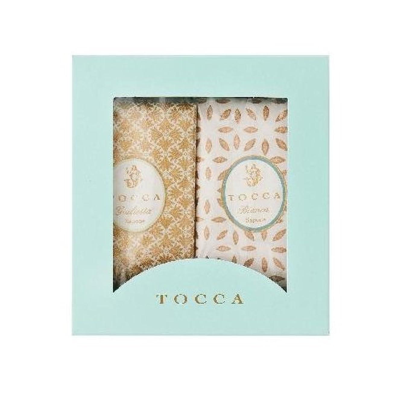 泣き叫ぶパン介入するトッカ(TOCCA) ソープバーBOXギフト 113g×2個 (ジュリエッタ & ビアンカ 箱入りギフト)