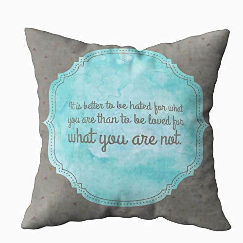 Musesh 20x20 Pillow Covers, Love Best Life for Sofa Home Decorative Pillowcase Zip Pillow Covers