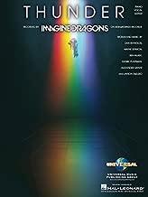Imagine Dragons - Thunder - Piano/Vocal/Guitar Sheet Music Single