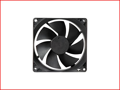 MAA-KU DC9225 Axial Case Cooling Fan. SIZE(9.2x9.2x2.5cm), SUPPLY VOLTAGE : 12VDC