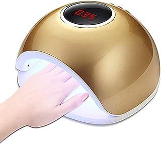 Lámpara de uñas LED Gel Profesional UV de la lámpara de uñas eficiente secador de uñas profesional polaca con Smart AutoSensing de curado ultrarrápido conveniencia Segura LED 72W modo indoloro máquina