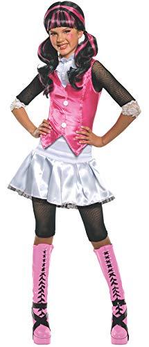 Rubie's-déguisement officiel - Monster High- Costume Déguisement Luxe Draculaura - Taille L- I-884787L