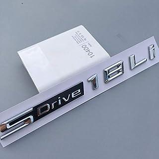 新しい XDrive SDrive 18i 20i 25i 28i 30i 35i 40i 50Li 20dフェンダートランクスラフトX1 x 3 x 4 x 4 x 5 x 6 x 7 x 7 x 7カースタイリングステッカー (Color...