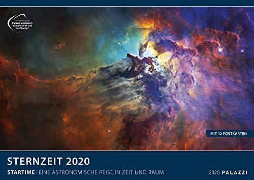 STERNZEIT 2020: Die Zeitreise der modernen Astronomie - Weltraum - Sterne- Galaxien - Die Aufnahmen der modernsten Teleskope weltweit - Kalender-Format 70 x 50 cm Posterkalender - Wandkalender