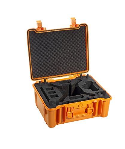 B&W Copter Case Type 61/O per DJI Phantom 3 orange