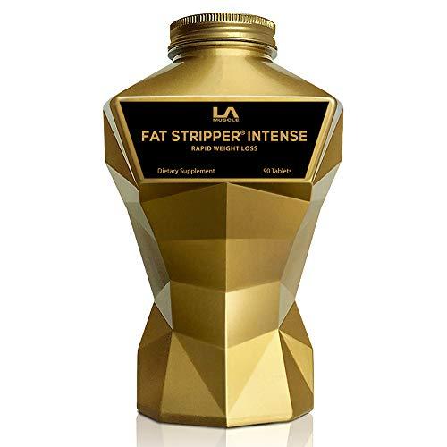 LA MUSCLE Fat Stripper Intense - Premium Thermogenic Fat Burner for Men & Women For Fast Weight Loss Belly Fat Burn Supplement, Appetite Suppressant, Energy Booster, Keto Veggie & Vegan Diet Pills