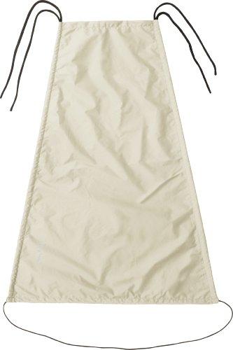 Playshoes Baby Sonnensegel für den Kinderwagen, Beige (natur), 75 x 55 cm