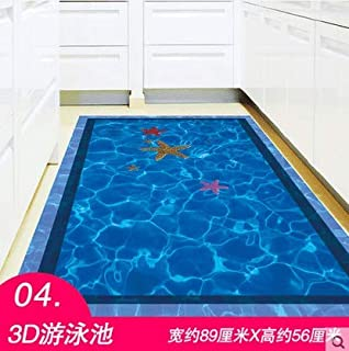 Wall Sticker SoungNerly Creative Simple Living Room Wall Decoration 3D Stereo Stickers Bathroom Tile Stickers Waterproof, Swimming Pool