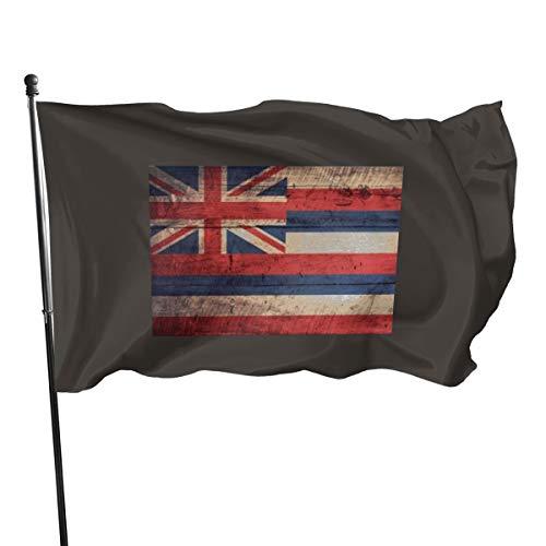 Generic Brands Bandera de Hawaii, bandera rústica, 3 x 5 pies
