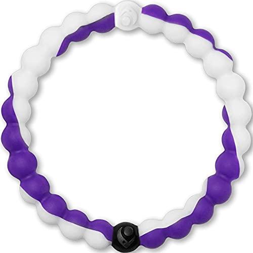 Lokai Northwestern University Wildcats, SIlicone Bead Bracelet for Men...