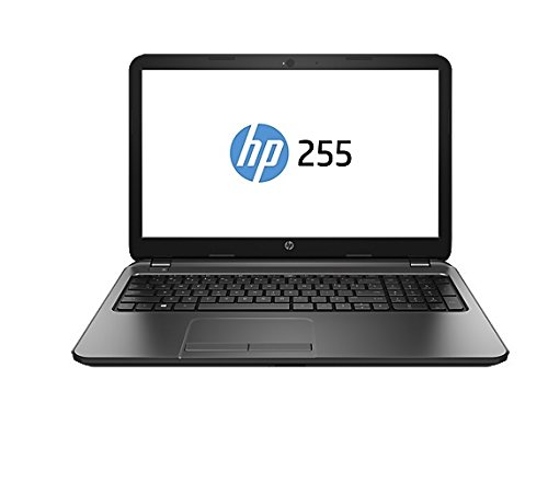 HP 255 G3 J4R73EA - Portátil de 15.6'(AMD Dual-Core E1-6010, 1.35 GHz, 4 GB RAM, 500 GB disco duro, Radeon R2 Graphics, Windows 8.1 ), negro - Teclado QWERTY español