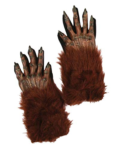 Mains de loup-garou brun