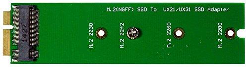 Adapter NGFF M.2 SSD zu XM11 Zenbook UX21 UX31 UX51 (B-Key + B+M-Key) M-Ware® ID14822
