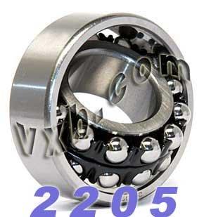 2205 Self Aligning Bearing 25x52x18 Ball Bearings VXB Brand