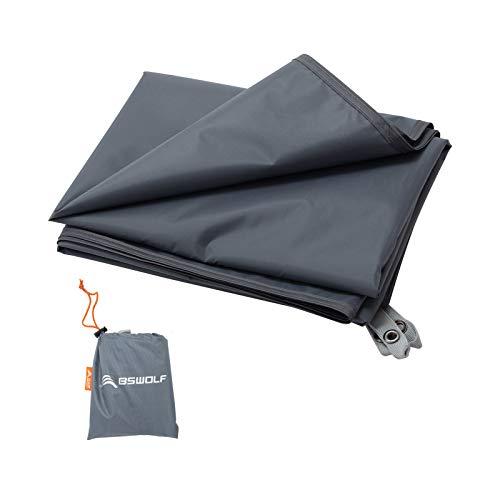 REDCAMP Ultralight Tent Footprint 82/'/'-87/'/'x55-118/'/' PU 2000 Waterproof Camping