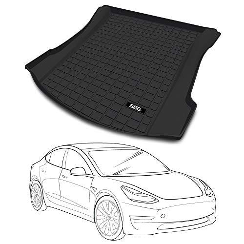 SEG Direct Trunk Mat Cutomized for Tesla Model 3,...